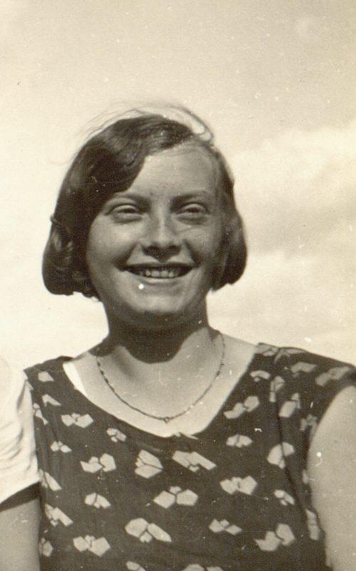Großmutter der Bloggerin