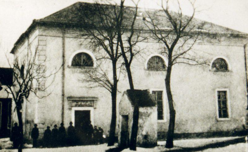 Ehemalige Synagoge in Frauenkirchen (Fotocredit: Dr. Brettl)