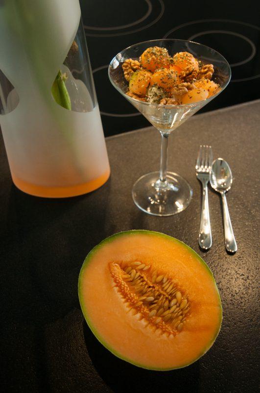 Vase Martina Zwölfer und Zuckermelone