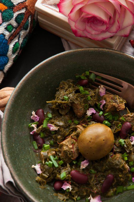 Ghormeh Sabzi, ein besonderer Kräutereintopf