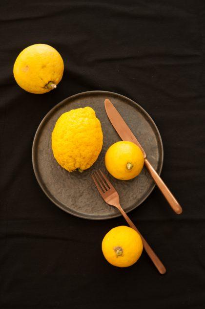 Bergamotten und Zitronatzitrone
