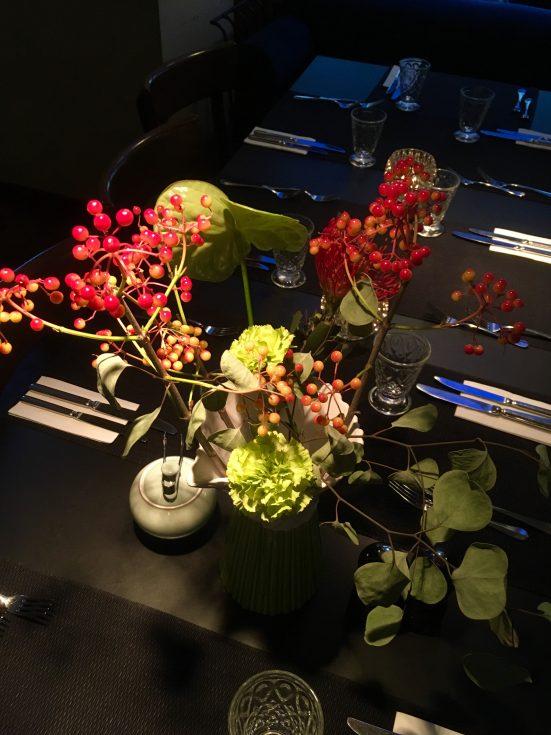 Blumenschmuck im Ansari