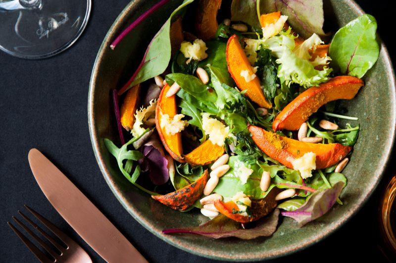 Fruchtiger Kürbissalat