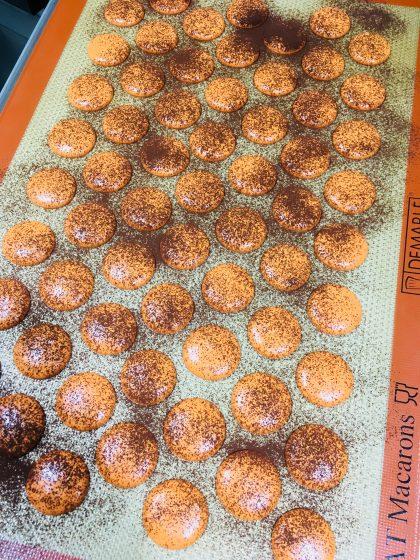 Macarons im Werden