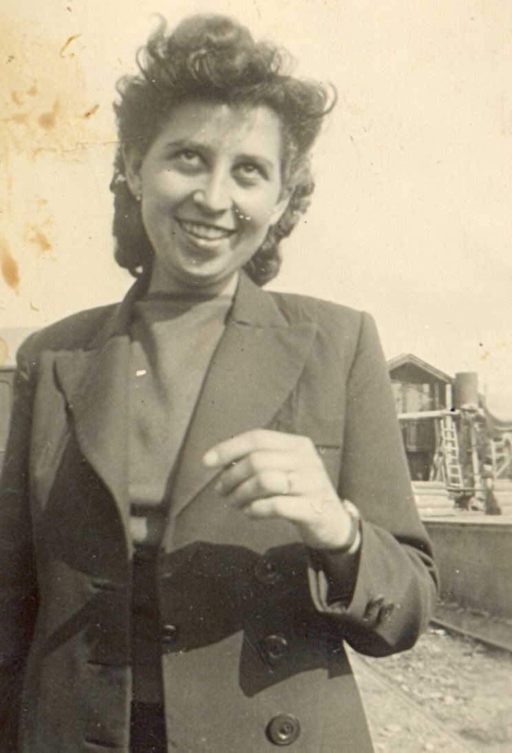 Meine Oma als junge Frau