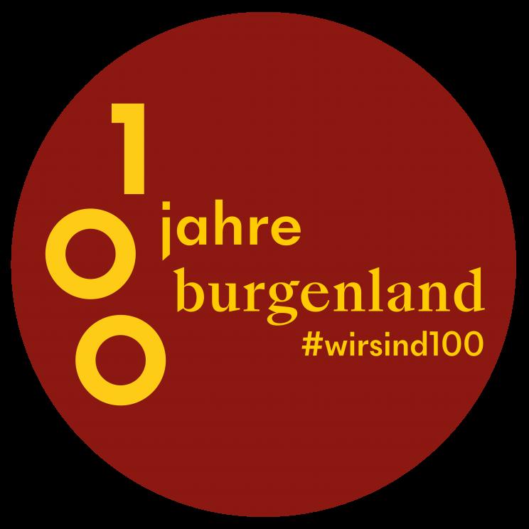 100 Jahre Burgenland Logo